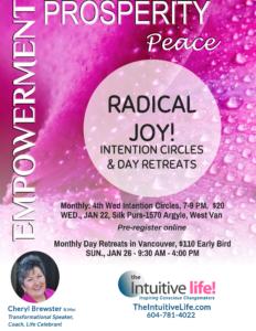 Radical Joy Intention Circle-January @ The Silk Purse Arts Centre